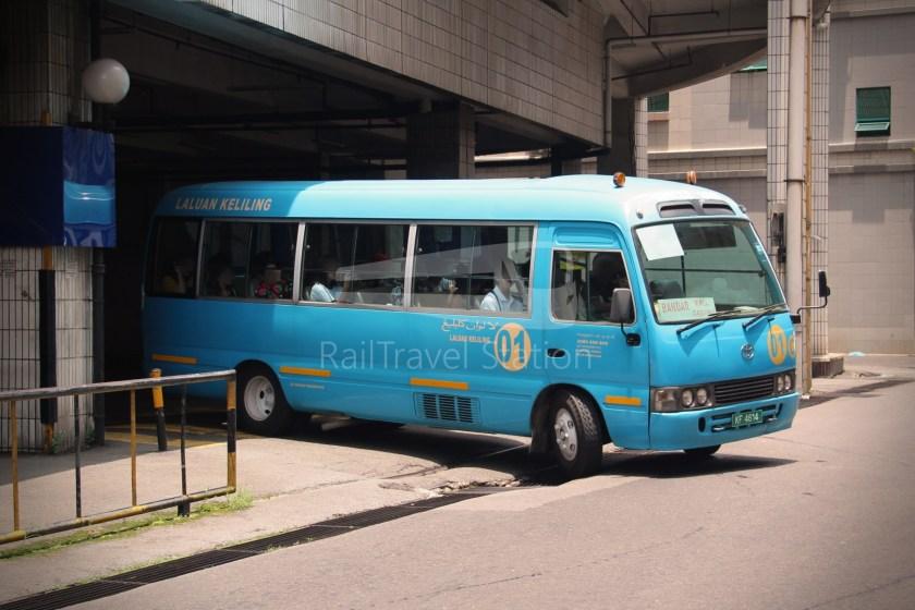 Brunei-Muara Service 01C BSB Bus Terminal Clockwise 001