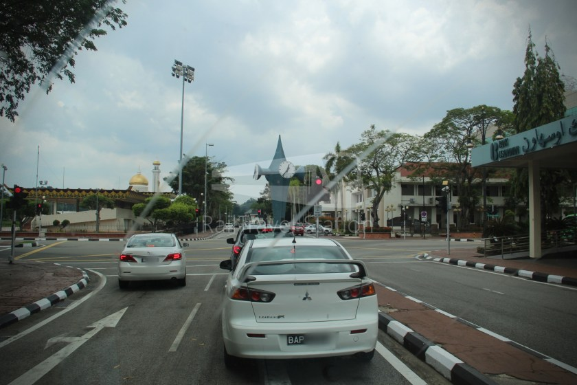Brunei-Muara Service 01C BSB Bus Terminal Clockwise 007