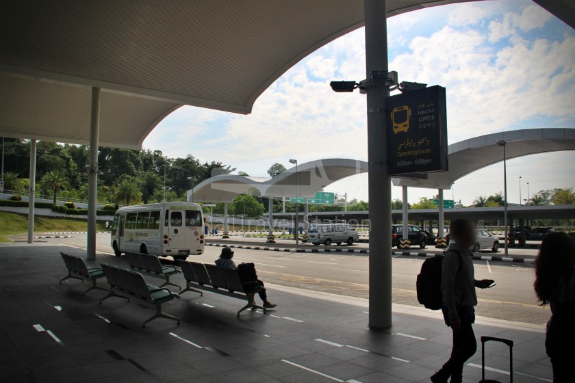 Brunei-Muara Service 24 Brunei International Airport BSB Bus Terminal 004