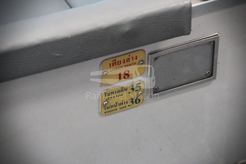 Special Express 46 Padang Besar Bangkok Hua Lamphong 035