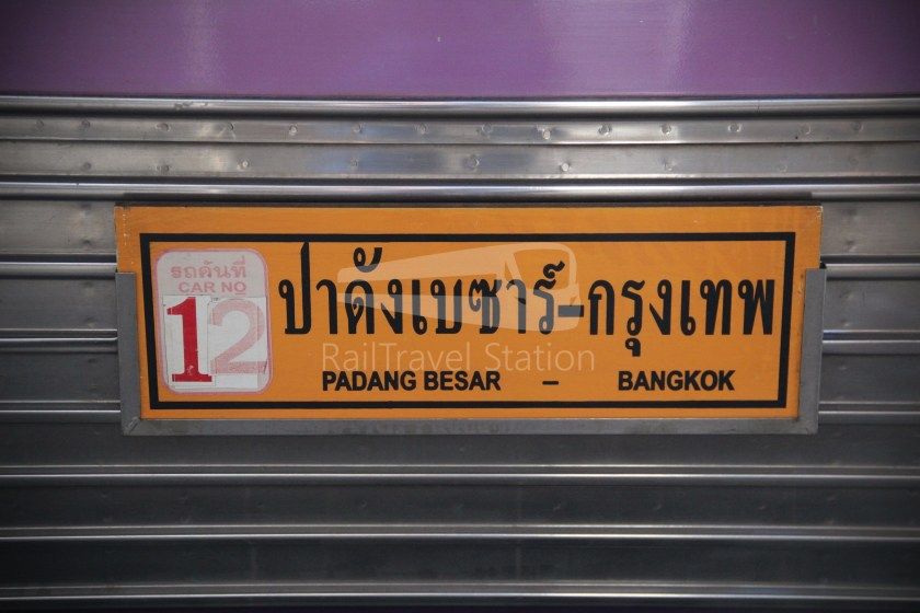 Special Express 46 Padang Besar Bangkok Hua Lamphong 043