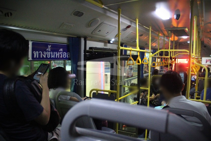 Don Mueang Airport Bus A1 DMK Mo Chit BTS 012