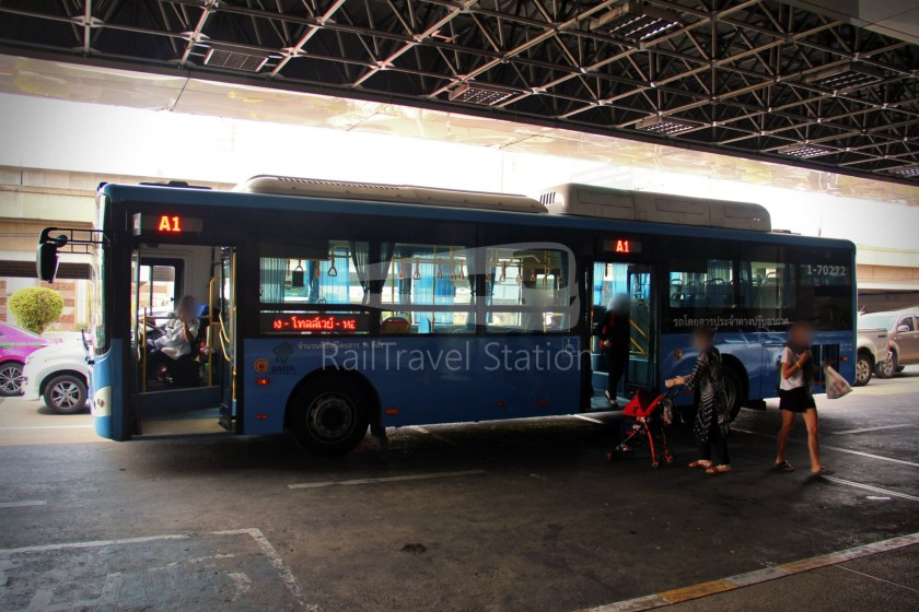 Don Mueang Airport Bus A1 Mo Chit BTS DMK 048