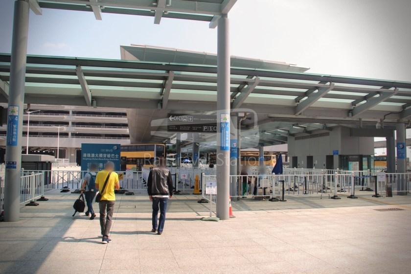 HZM Bus HZMB Macau Port HZMB Hong Kong Port 012