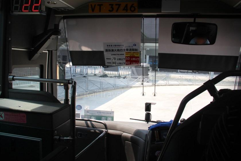 HZM Bus HZMB Macau Port HZMB Hong Kong Port 022