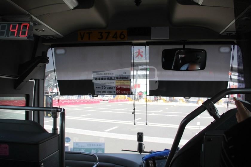 HZM Bus HZMB Macau Port HZMB Hong Kong Port 028