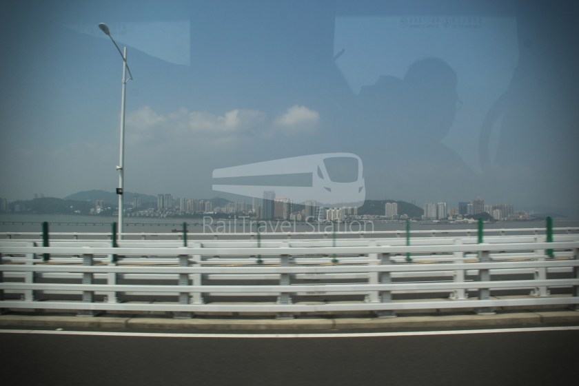 HZM Bus HZMB Macau Port HZMB Hong Kong Port 032