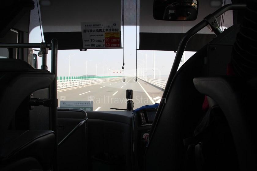 HZM Bus HZMB Macau Port HZMB Hong Kong Port 035
