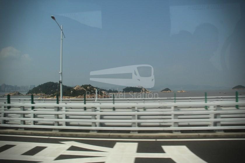 HZM Bus HZMB Macau Port HZMB Hong Kong Port 036