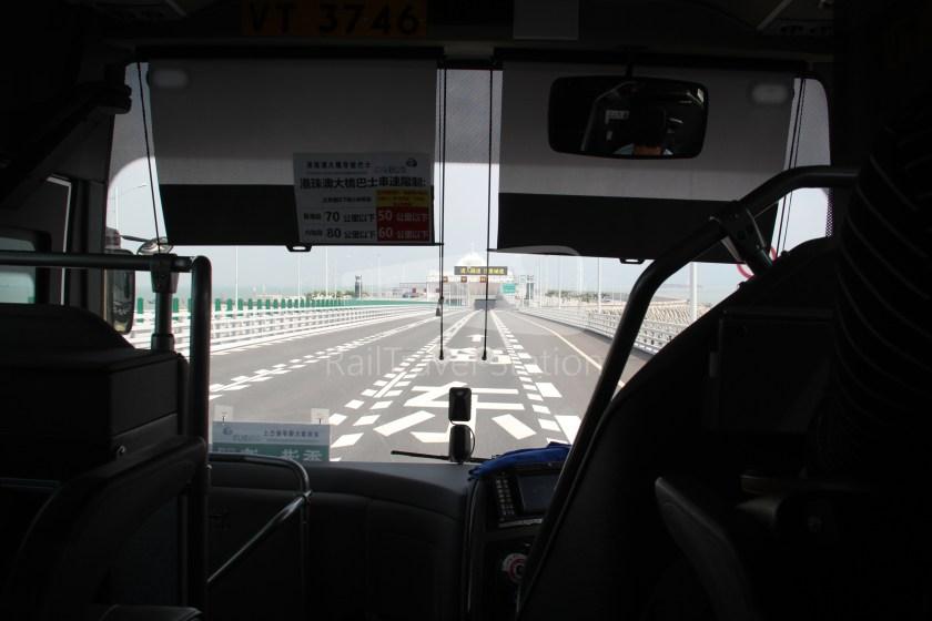 HZM Bus HZMB Macau Port HZMB Hong Kong Port 041