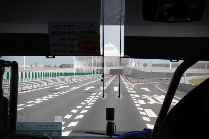 HZM Bus HZMB Macau Port HZMB Hong Kong Port 042