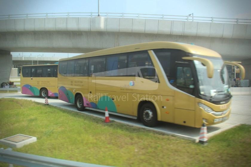 HZM Bus HZMB Macau Port HZMB Hong Kong Port 065