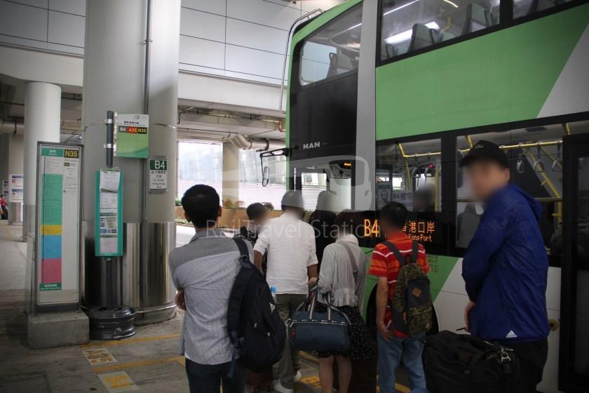 New Lantao Bus B4 HZMB Hong Kong Port Airport 040