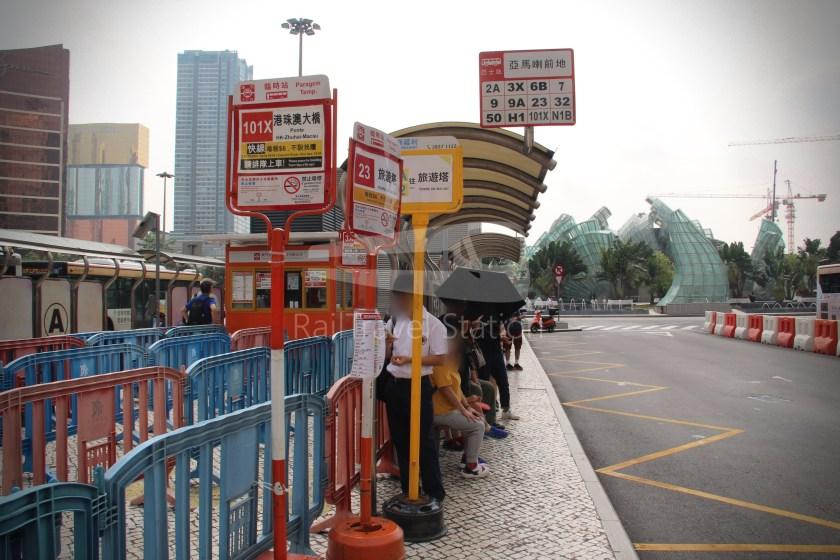 TCM 101X Praça Ferreira Amaral Posto Fronteiriço da Ponte Hong Kong–Zhuhai–Macau 003