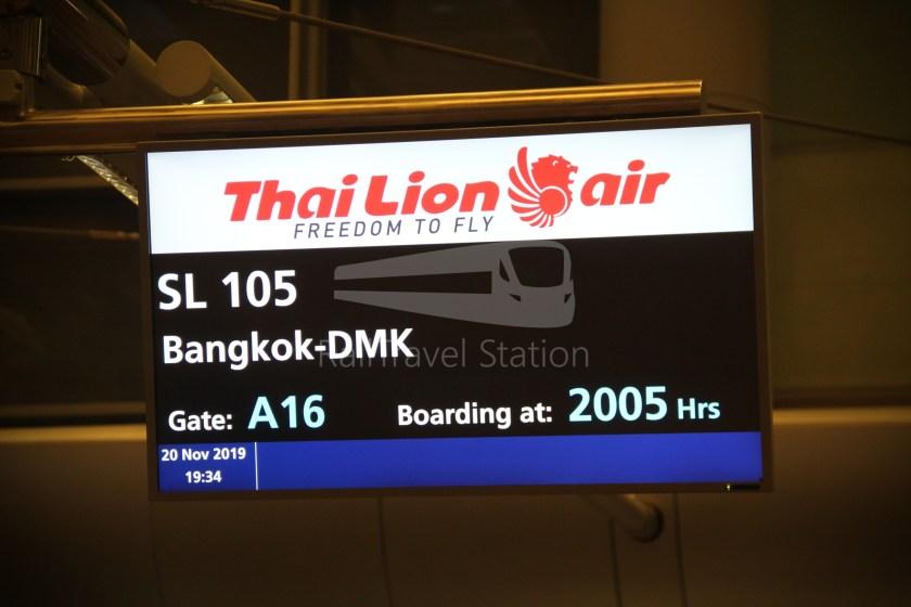 Thai Lion Air SL105 SIN DMK 333 007