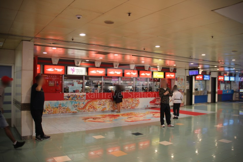 TurboJET Hong Kong Macau Ferry Terminal Macau Outer Harbour Ferry Terminal 001