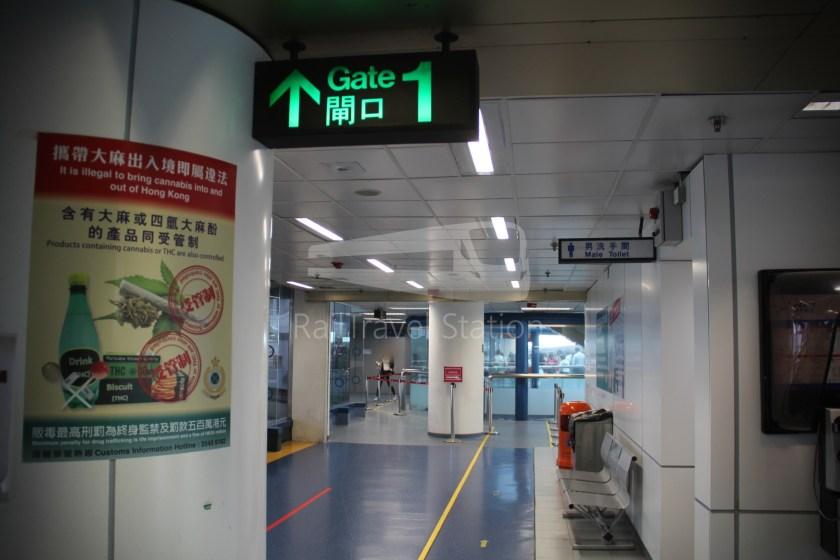 TurboJET Hong Kong Macau Ferry Terminal Macau Outer Harbour Ferry Terminal 017