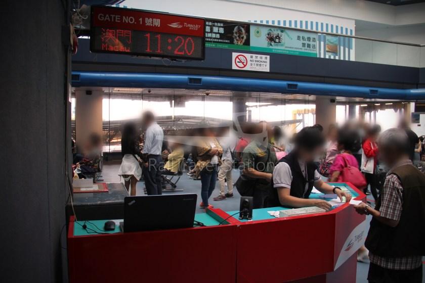 TurboJET Hong Kong Macau Ferry Terminal Macau Outer Harbour Ferry Terminal 019
