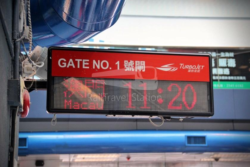 TurboJET Hong Kong Macau Ferry Terminal Macau Outer Harbour Ferry Terminal 020