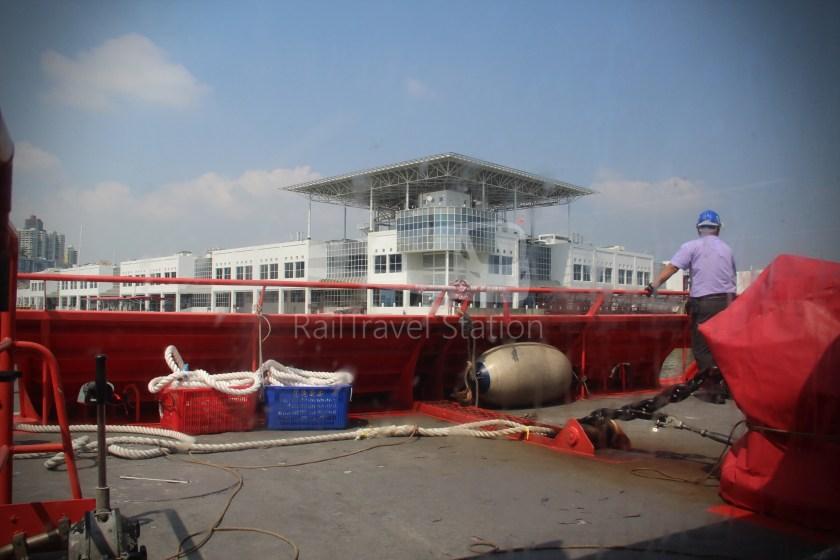 TurboJET Hong Kong Macau Ferry Terminal Macau Outer Harbour Ferry Terminal 051