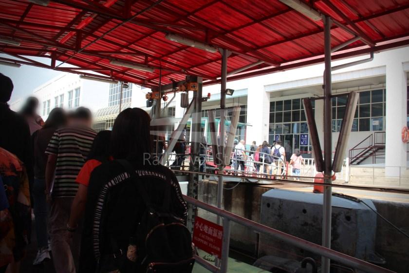 TurboJET Hong Kong Macau Ferry Terminal Macau Outer Harbour Ferry Terminal 054