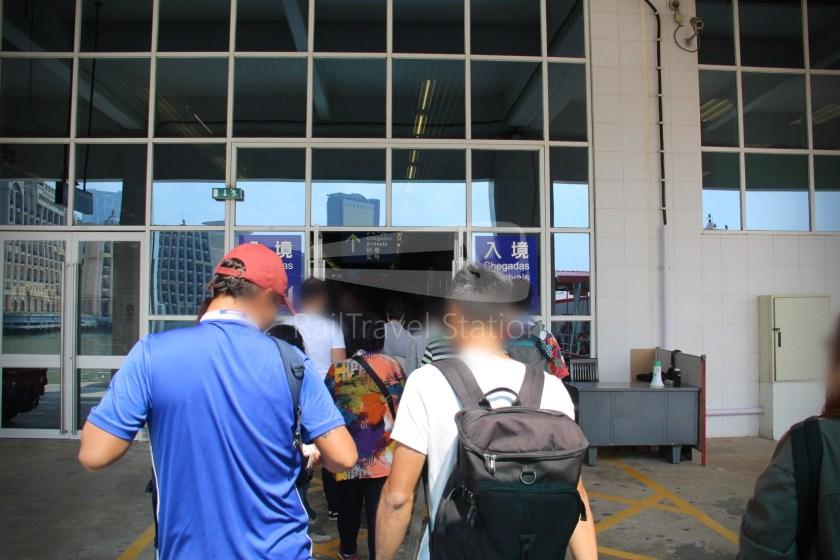 TurboJET Hong Kong Macau Ferry Terminal Macau Outer Harbour Ferry Terminal 055