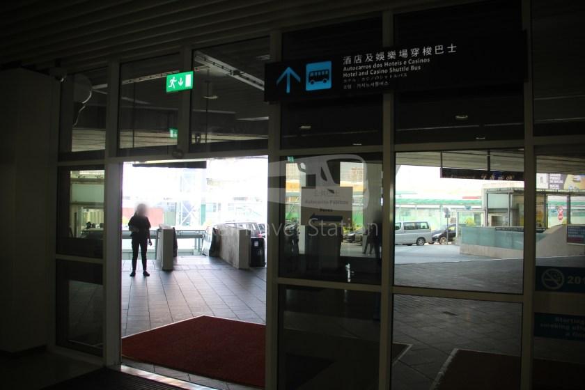 TurboJET Hong Kong Macau Ferry Terminal Macau Outer Harbour Ferry Terminal 057