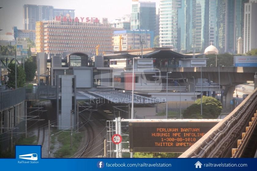 Abdullah Hukum LRT & KTM – KL Eco City – The Gardens Mid Valley Link Bridge 002