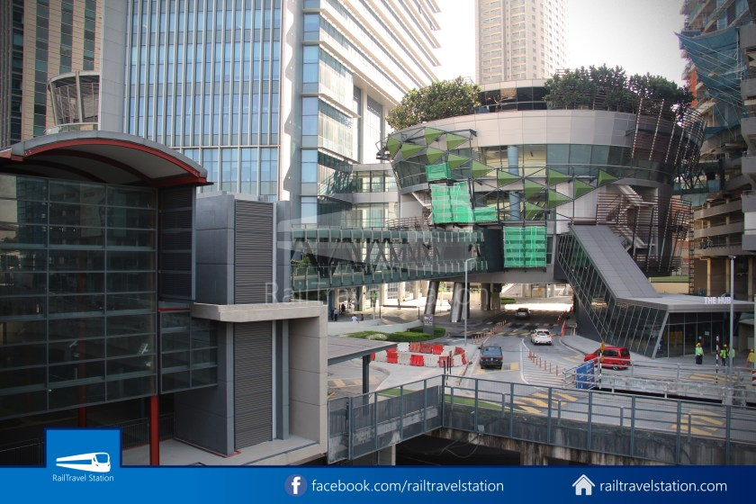 Abdullah Hukum LRT & KTM – KL Eco City – The Gardens Mid Valley Link Bridge 008