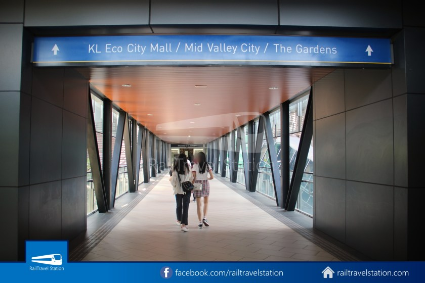 Abdullah Hukum LRT & KTM – KL Eco City – The Gardens Mid Valley Link Bridge 022