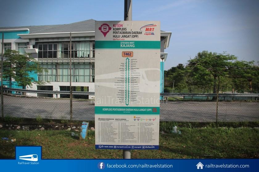 MRT SBK Line Feeder Bus T462 Kajang MRT KIPMall Bangi 010
