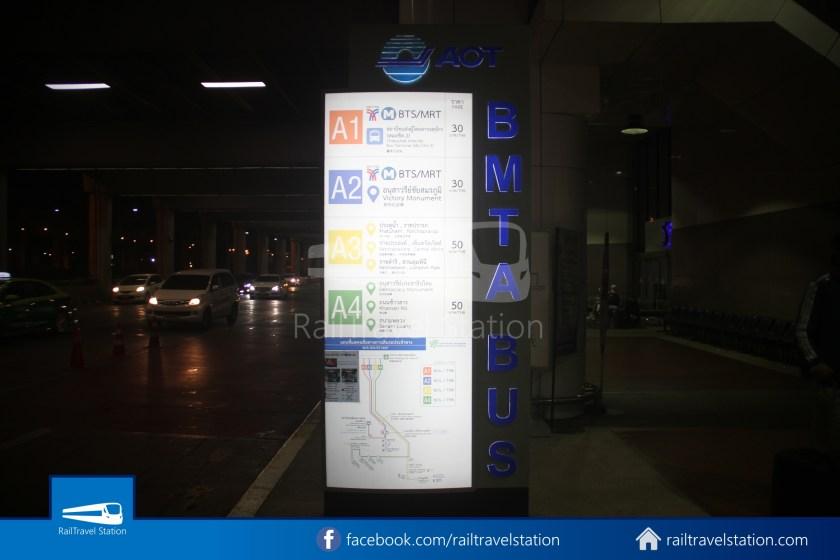 Don Mueang Airport Bus A1 DMK Chatuchak Park MRT 003