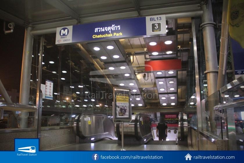 Don Mueang Airport Bus A1 DMK Chatuchak Park MRT 021