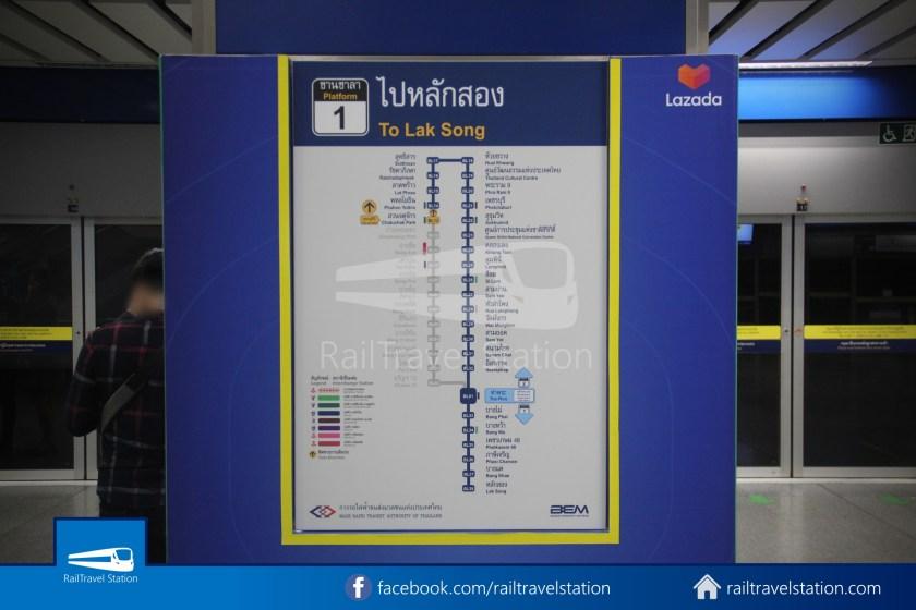 Don Mueang Airport Bus A1 DMK Chatuchak Park MRT 024