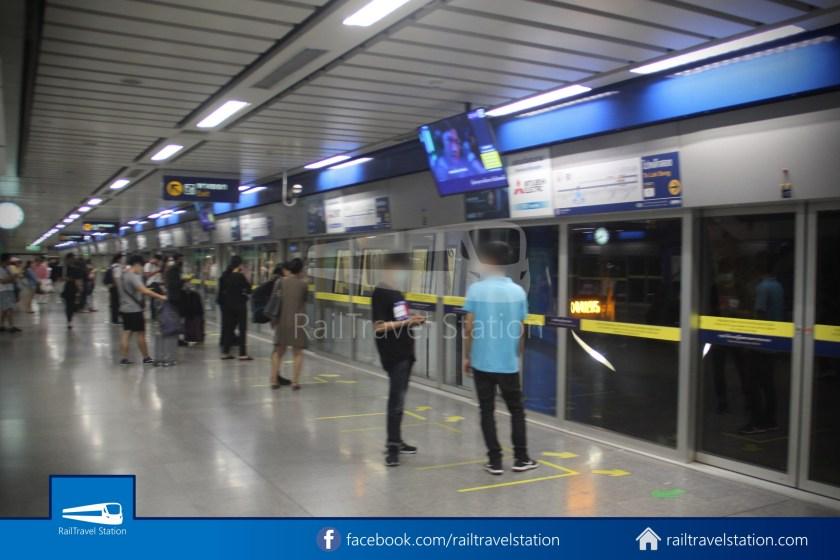 Don Mueang Airport Bus A1 DMK Chatuchak Park MRT 025