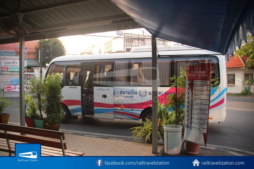 Hat Yai Airport Minibus Airport Bus Station 037