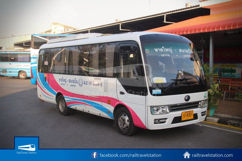 Hat Yai Airport Minibus Airport Bus Station 040