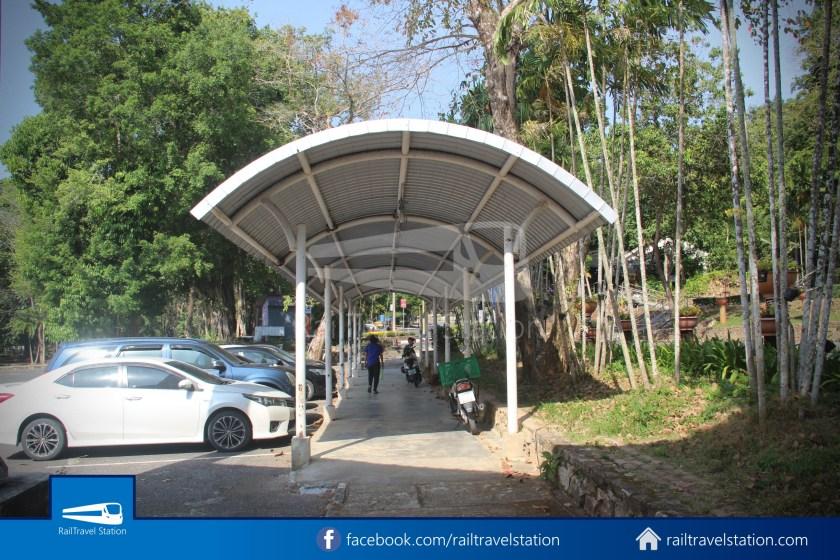 Hat Yai City Municipality Park Shuttle Songthaew Wonders Land Cable Car 006