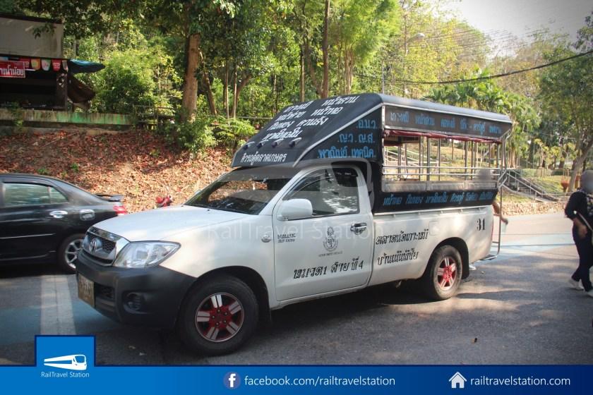 Hat Yai City Municipality Park Shuttle Songthaew Wonders Land Cable Car 014