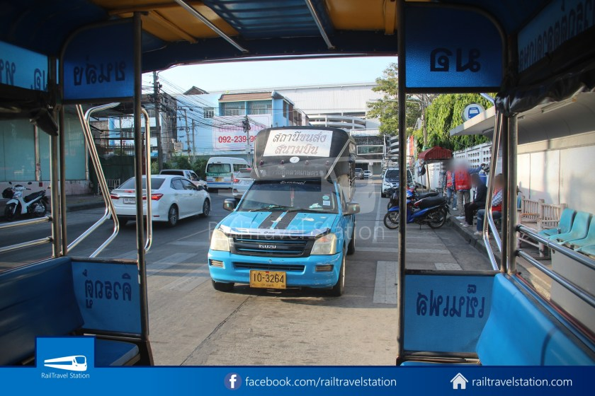 Hat Yai Songthaew Blue 8438 Bus Terminal Kim Yong 003