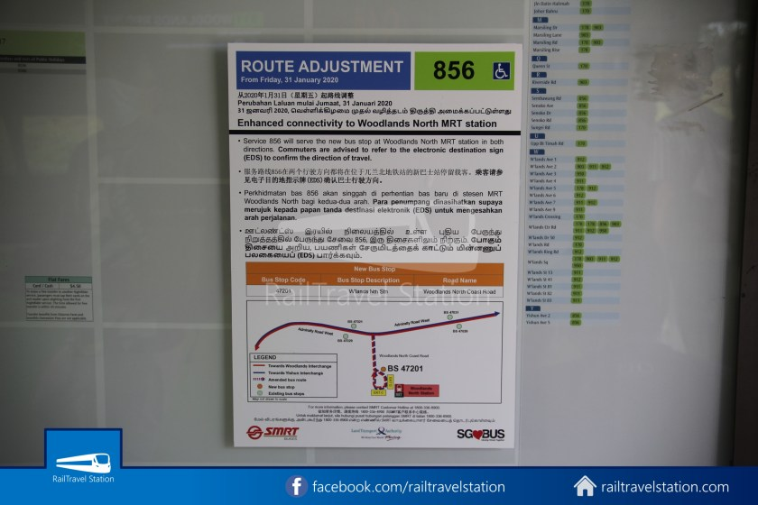 SMRT 856 Woodlands Train Checkpoint Woodlands North MRT 003