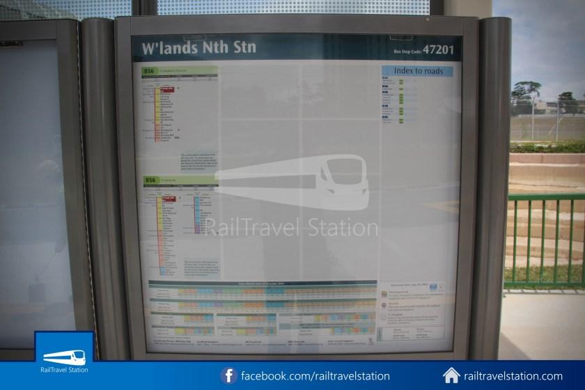 SMRT 856 Woodlands Train Checkpoint Woodlands North MRT 020