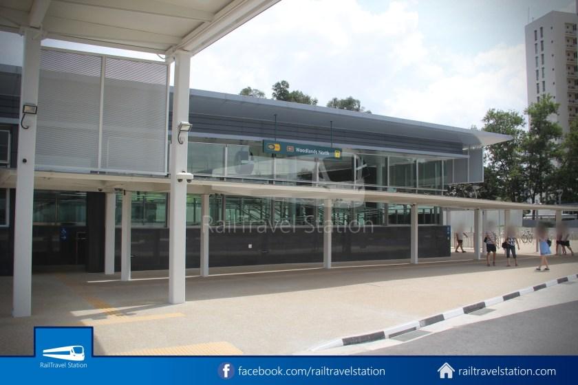 SMRT 856 Woodlands Train Checkpoint Woodlands North MRT 025
