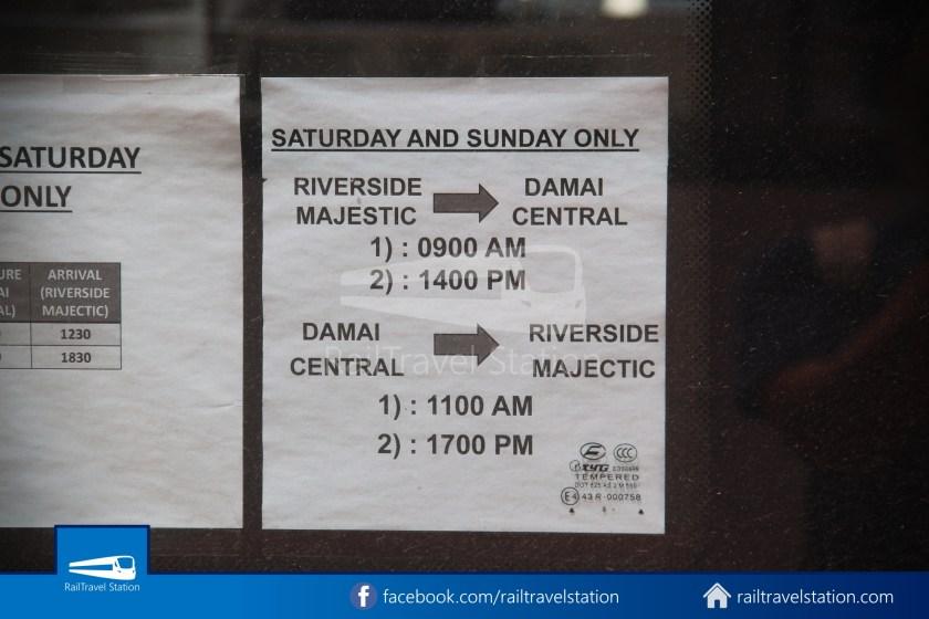H2 Sarawak Damai Bus at Riverside Majestic 010