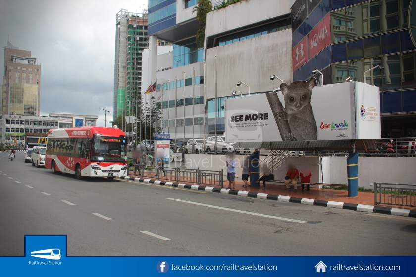 H2 Sarawak Hydrogen Bus Downtown Heritage Loop 003