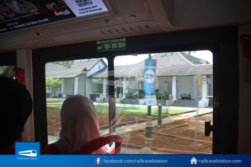 H2 Sarawak Hydrogen Bus Downtown Heritage Loop 013