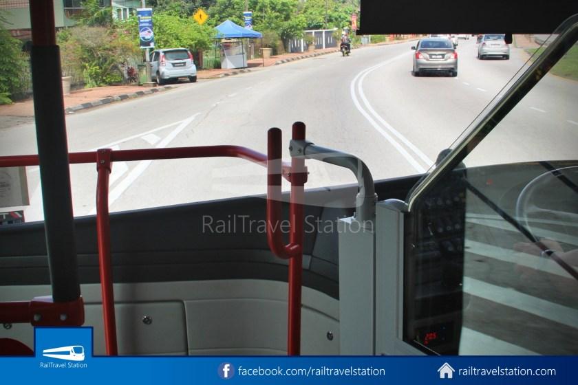H2 Sarawak Hydrogen Bus Downtown Heritage Loop 040