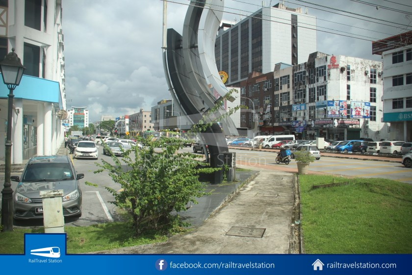 H2 Sarawak Hydrogen Bus Downtown Heritage Loop 046