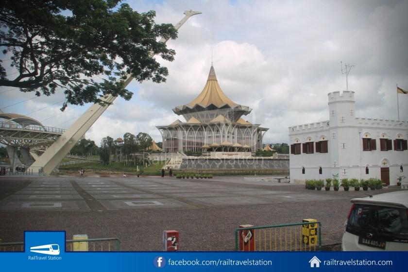 H2 Sarawak Hydrogen Bus Downtown Heritage Loop 073