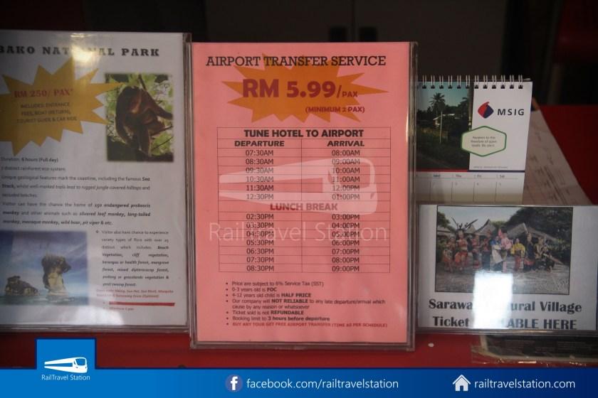 Tune Hotel Waterfront Kuching 003